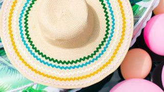 DIY Ric Rac Summer Hat