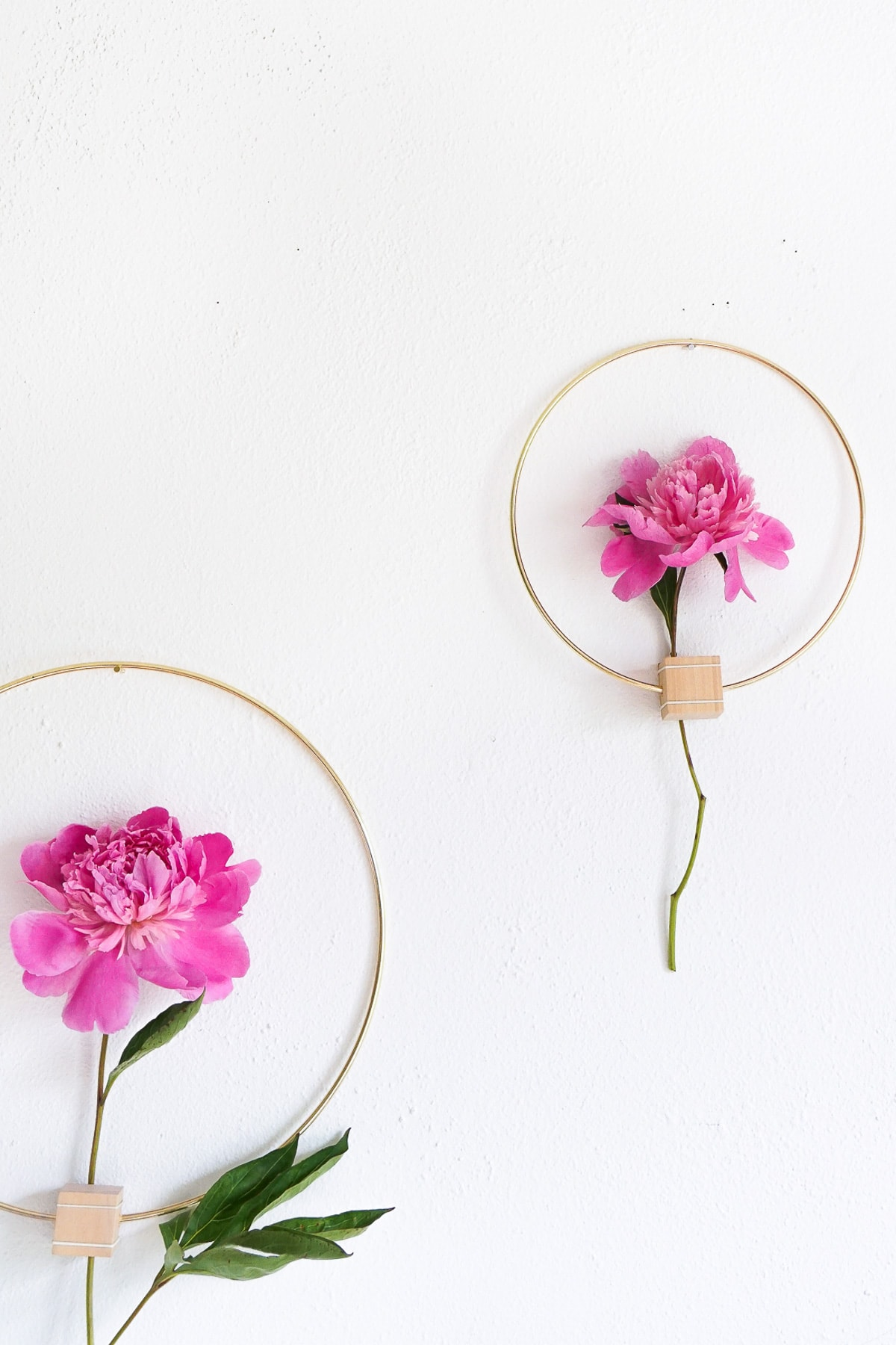 DIY Minimalist Flower Wall Hang (Erin)-12 - Sugar & Cloth