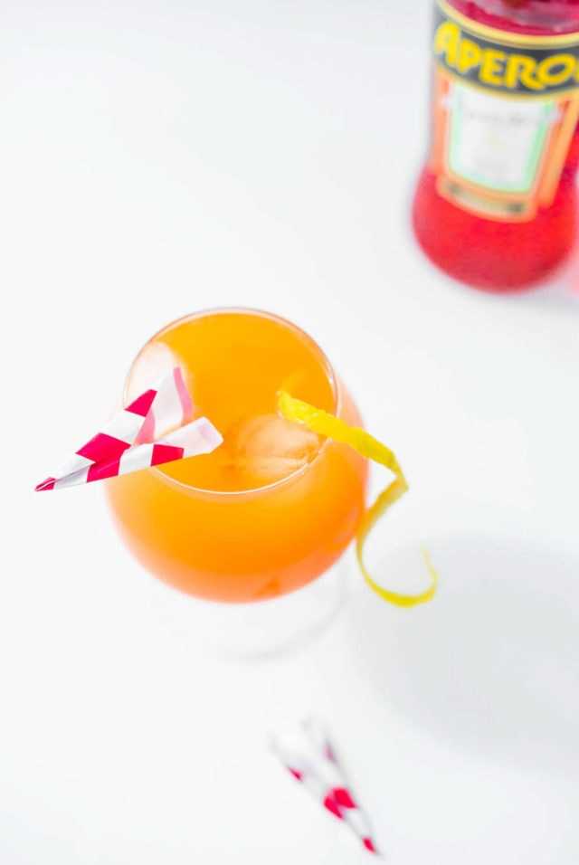 Paper Plane Spritz by Ashley Rose of Sugar & Cloth, a top lifestyle blog in Houston, Texas