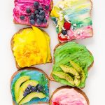 All Natural Unicorn Toast Recipe