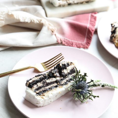 Boozy Mudslide Icebox Cake by Ashley Rose of Sugar & Cloth, a top lifestyle blog in Houston, Texas