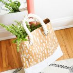 DIY Pattern Paper Leather Tote