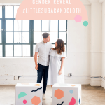#LittleSugarandCloth: Sharing our colorful gender reveal! (+ video!)