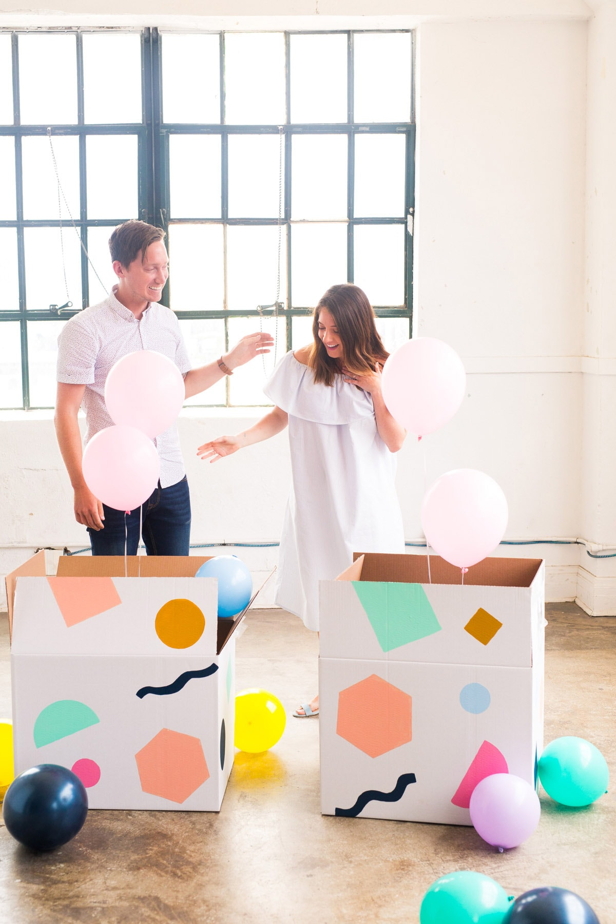 #littlesugarandcloth: sharing our colorful gender reveal!