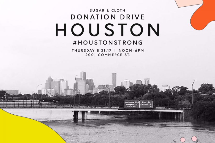 Helping Houston: Storm Update + Hosting a Harvey Relief Donation Drive by top Houston lifestyle blogger Ashley Rose of sugar and cloth