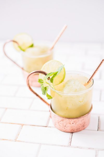 Moscow Mule Float by Ashley Rose of Sugar & Cloth, a top lifestyle blog in Houston, Texas