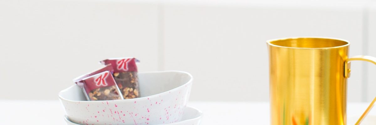 Brunch Club: DIY Custom Painted Bowls by top Houston lifestyle blogger Ashley Rose of Sugar and Cloth