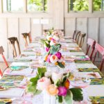 Round Top Blogger Retreat: A Pastel Poolside Brunch