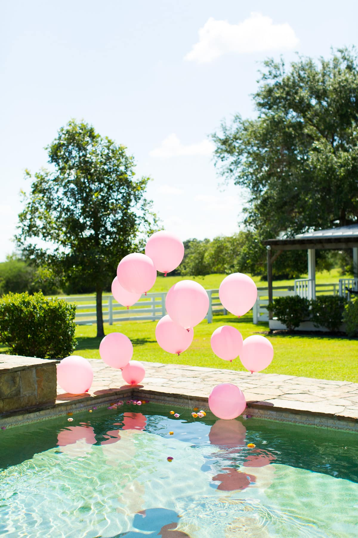 Round Top Blogger Retreat: A Pastel Poolside Brunch by top Houston lifestyle blogger Ashley Rose of Sugar and Cloth