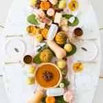 Friendsgiving Table Setting Idea + Sparkling Pumpkin Cider Recipe