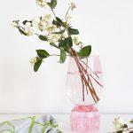 DIY Color-Glazed Stacked Vases