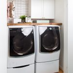 Big Reveal: Before & After of our Laundry Room Makeover + 2 Minute DIY Dryer Sheet Dispenser