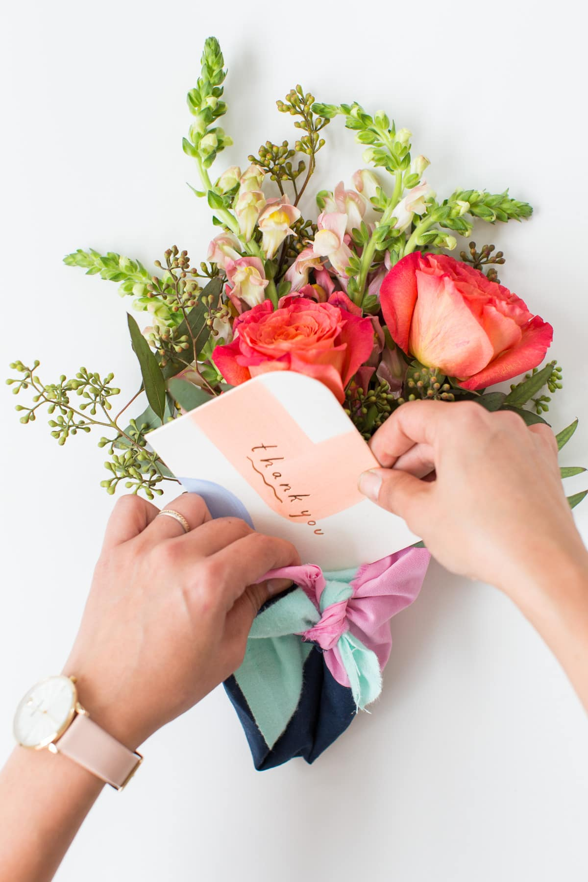 Diy fabric wrapped bouquets for gifting sugar cloth with each watch comes a gilded pin for sharing with a friend which gave me the idea for creating a diy that you could make to go along with your extra izmirmasajfo