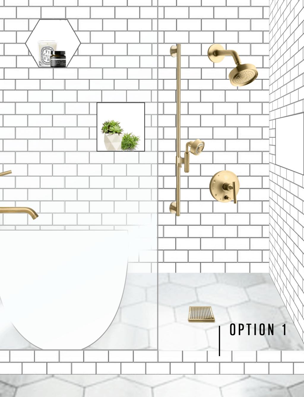One Room Challenge Week 2 Our Master Bath Design Plan Help Us Pick