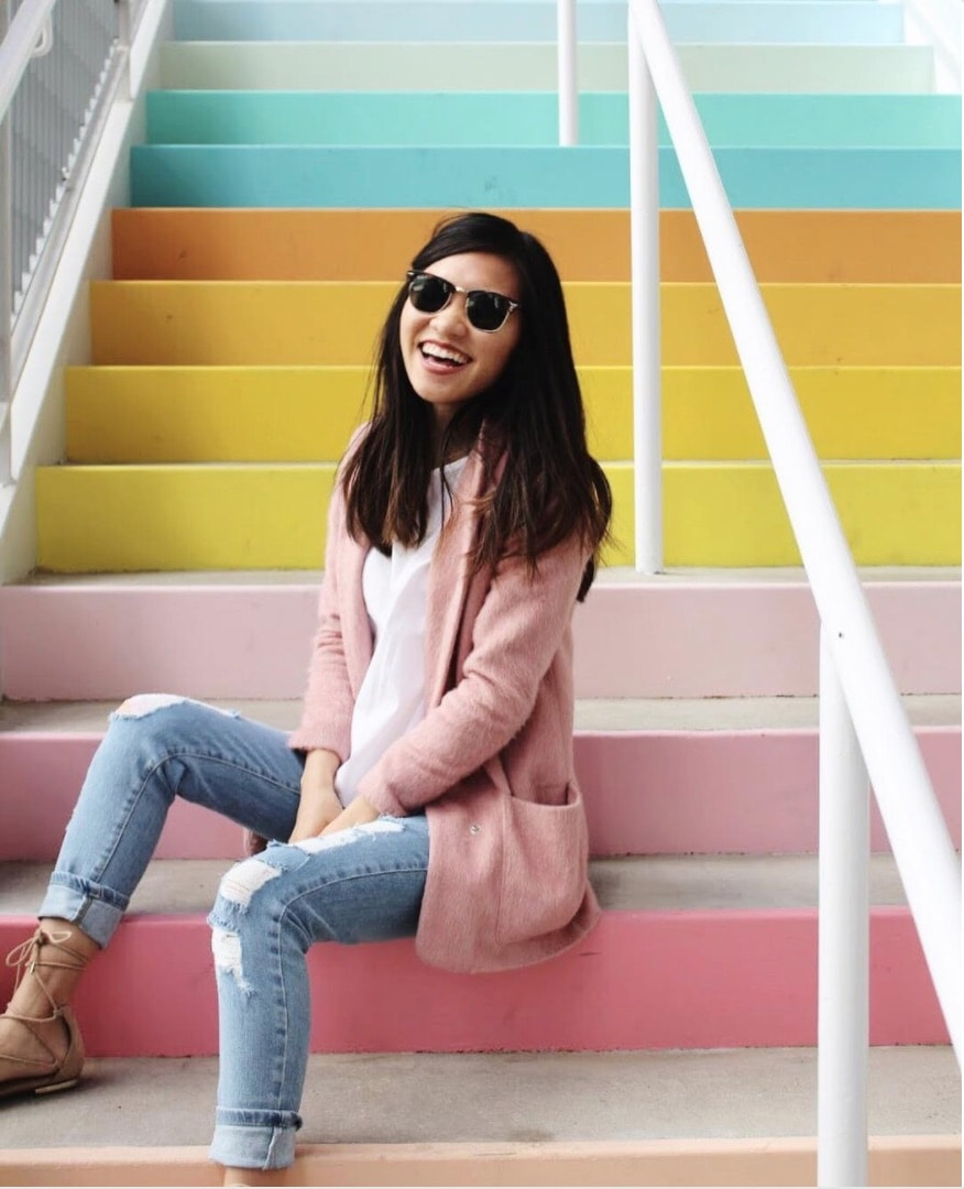 The New Sugar & Cloth Color Wall by top Houston lifestyle blogger Ashley Rose of Sugar & Cloth