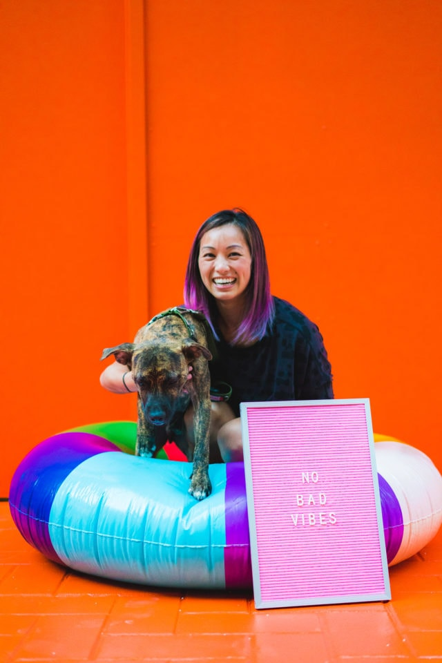The New Sugar & Cloth Color Wall & Launch Party Recap (+ Video)! by top Houston lifestyle blogger Ashley Rose of Sugar and Cloth