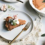 Thanksgiving Dessert: No Bake Gingersnap Pumpkin Pie