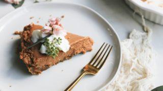 Thanksgiving Dessert: No Bake Gingersnap Pumpkin Pie