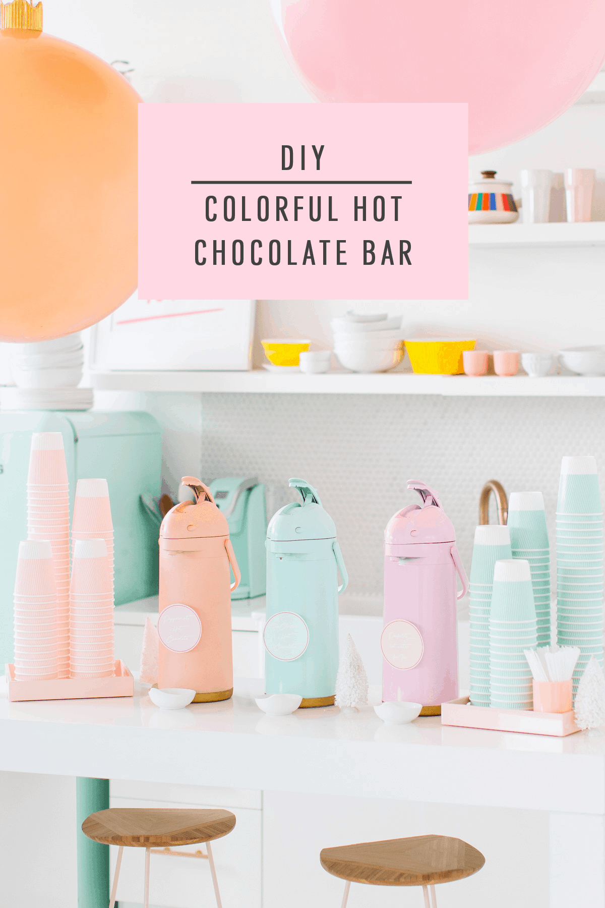DIY Hot Chocolate Bar + Holiday Charity Event Recap by top Houston Lifestyle blogger Ashley Rose of Sugar & Cloth