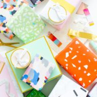 Our favorite holiday gift wraps by Ashley Rose of Sugar & Cloth, a top Houston Lifestyle Blog
