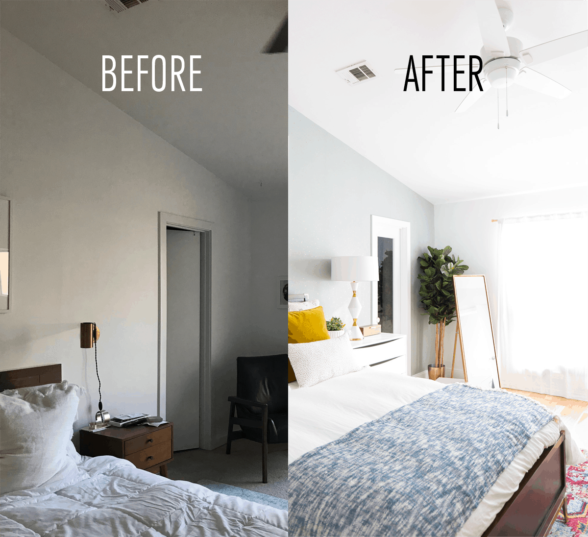 One Room Challenge Final Reveal Our Master Suite Makeover