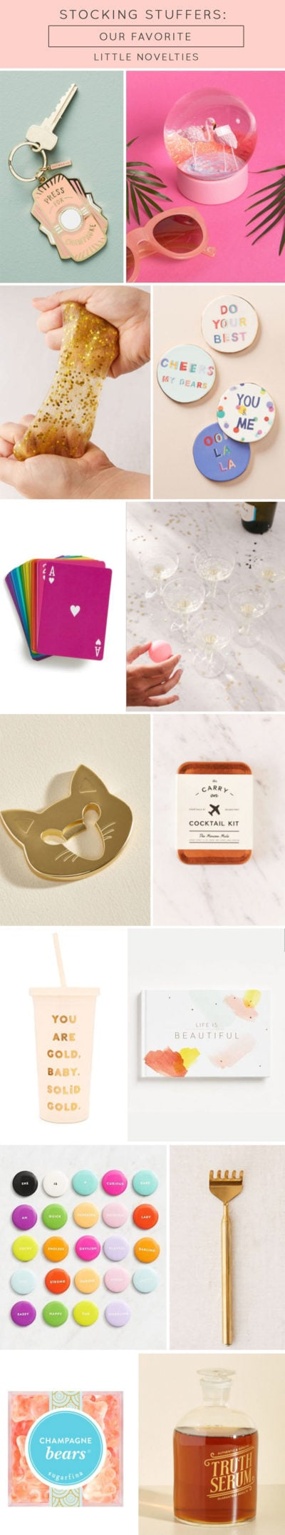 Stocking stuffers - our favorite little novelties by Ashley Rose of Sugar & Cloth, a top Houston Lifestyle Blog