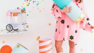 Simple Jumbo DIY Confetti Poppers