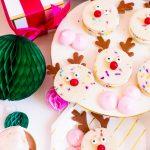 Funfetti Reindeer Cookie Sandwiches Recipe