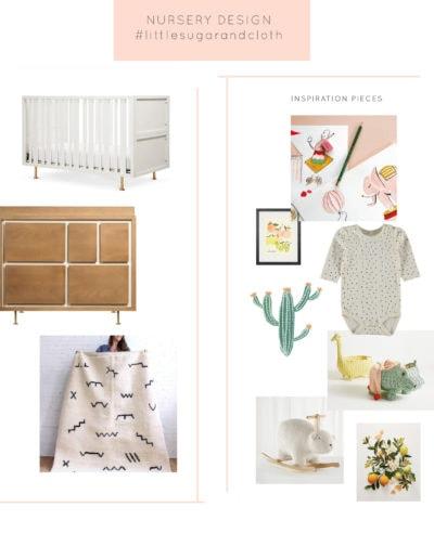 Little Sugar & Cloth: Our Nursery Room Design Plan! by top Houston lifestyle blogger Ashley Rose of Sugar & Cloth