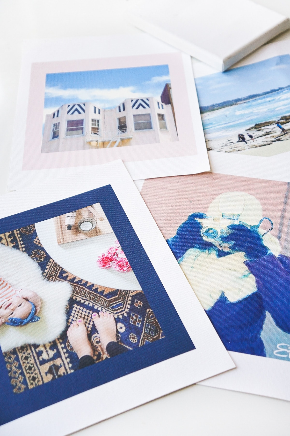 photo of the different images you can turn into your own DIY canvas art print by top Houston lifestyle blogger Ashley Rose of Sugar & Cloth
