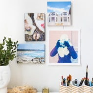 diy canvas print wall art
