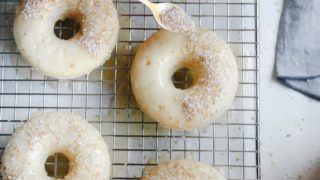 Champagne Donuts & White Chocolate Glaze Recipe