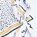 Patterned DIY No-sew Neckerchief