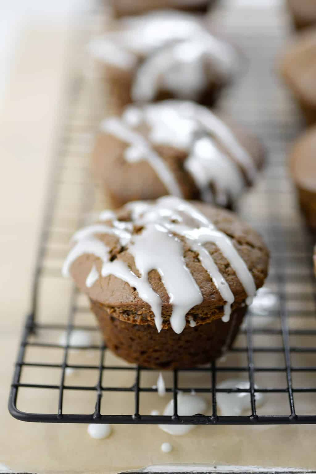 Gingerbread Muffin Recipe by top Houston lifestyle blogger Ashley Rose of Sugar and Cloth