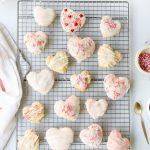 Raspberry Heart Shaped Pop Tarts Recipe