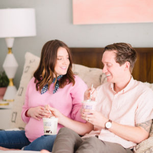 Little Sugar & Cloth: Sharing Our Maternity Photos! by top Houston lifestyle blogger Ashley Rose of Sugar and Cloth