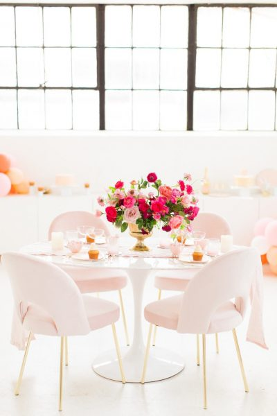 A Simple and Chic Galentine's Table by top Houston lifestyle blogger Ashley Rose of Sugar and Cloth