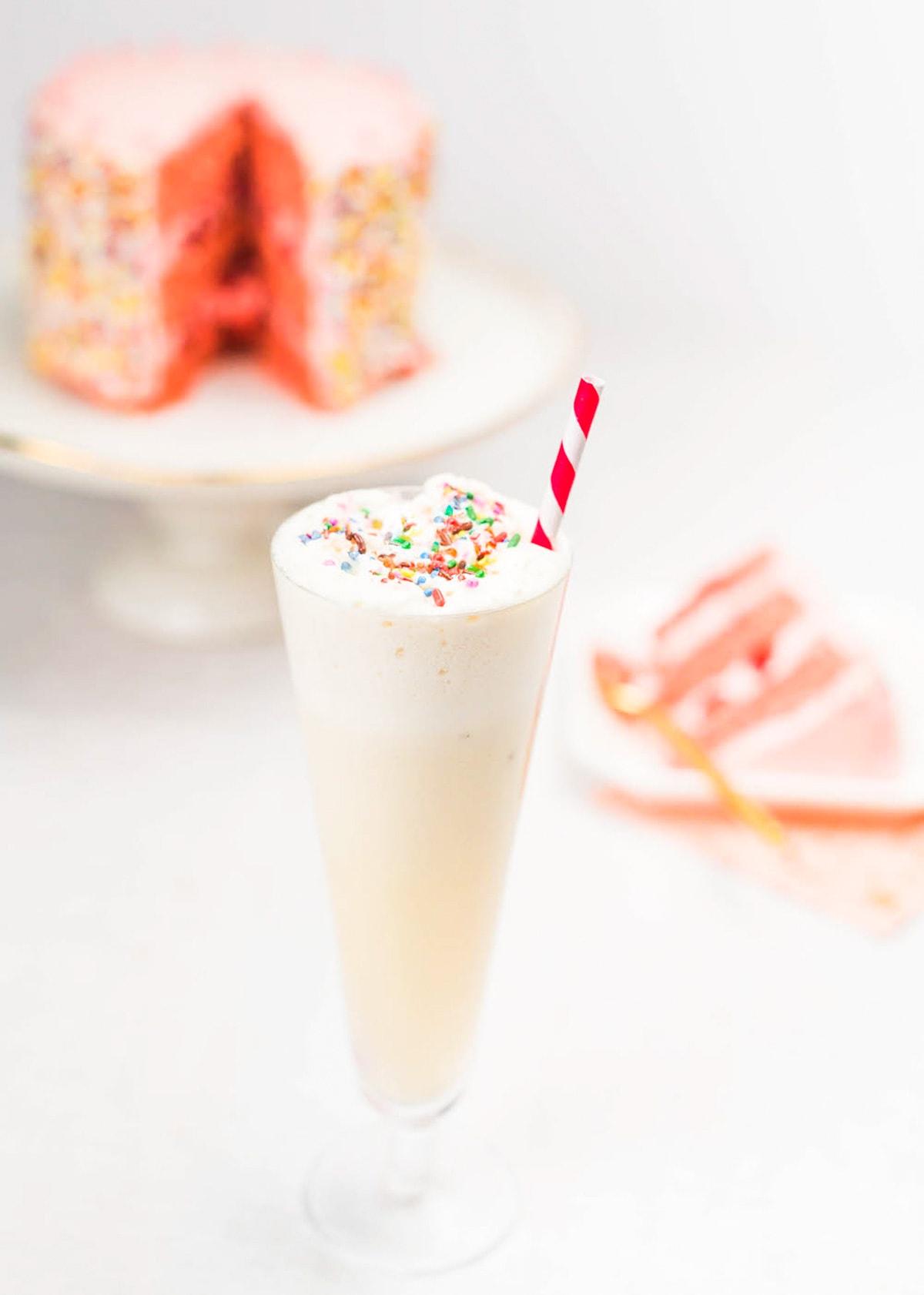 Birthday Cake Cocktail Ashley Conway 11 Sugar Cloth