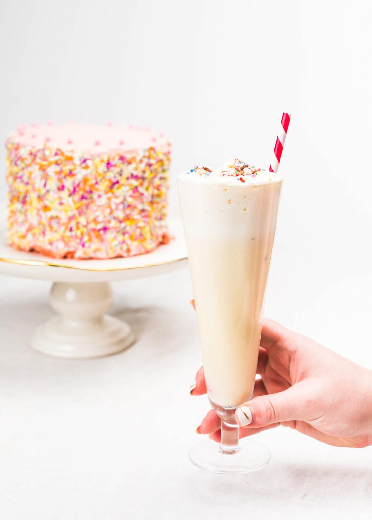 Birthday Cake Cocktail Ashley Conway9 Sugar Cloth