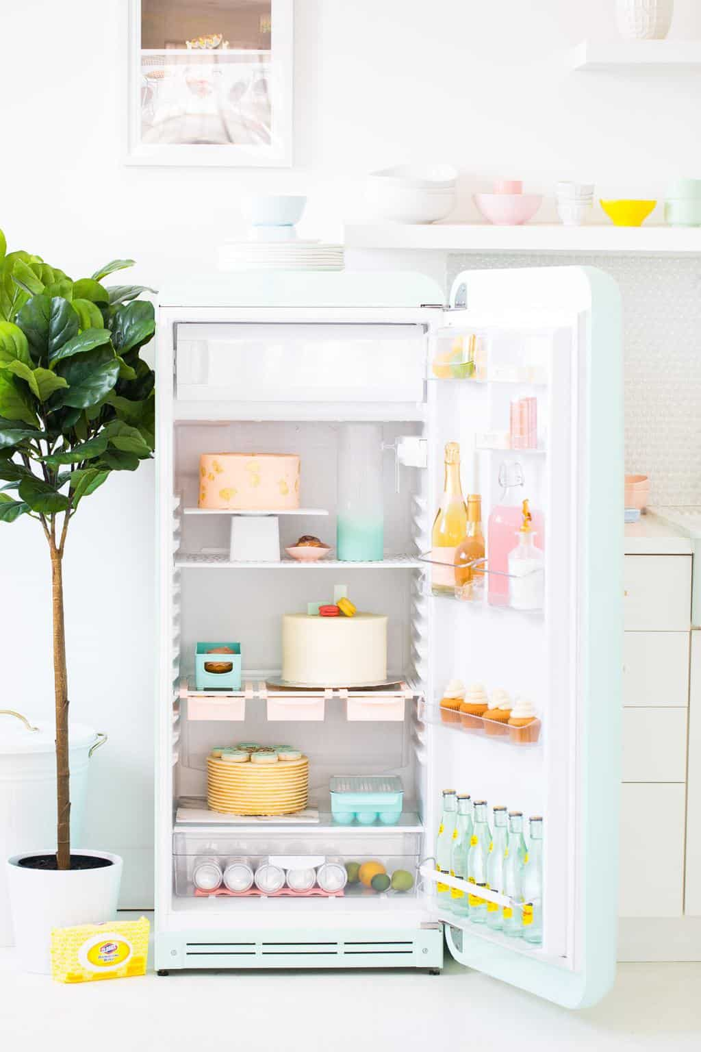 6 Oddly Satisfying Spring Refrigerator Cleaning Hacks by top Houston lifestyle Blogger Ashley Rose of Sugar & Cloth