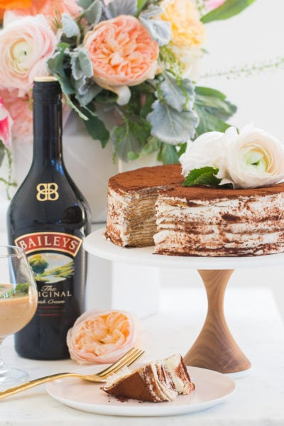 Bailey's Tiramisu Crepe Recipe