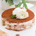 Bailey's Tiramisu Crepe Recipe by top Houston lifestyle blogger Ashley Rose of Sugar and Cloth