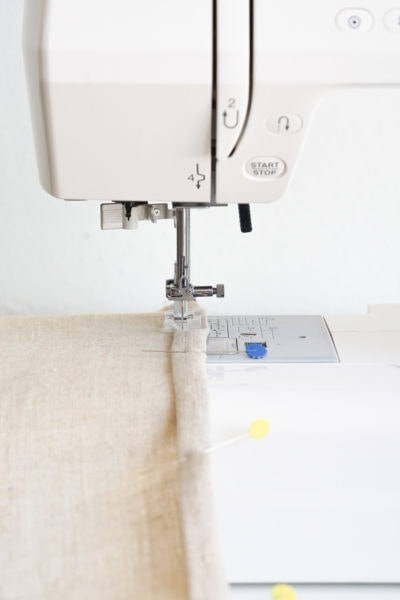 Step 13 -DIY Rug Hook Pillow by top Houston lifestyle blogger Ashley Rose of Sugar and Cloth #rughook #diy #poillow #craft #diypillow #doityourself #pillowcase #homedecor #diydecor