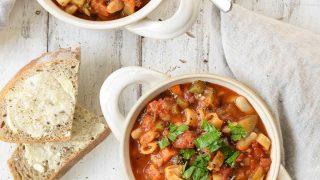 Instant Pot Soup: Easy White Bean & Vegetable Soup Recipe