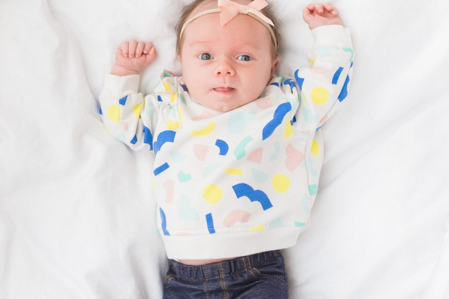 Little Sugar & Cloth: Gwen's One Month Update! by top Houston lifestyle blogger Ashley Rose of Sugar and Cloth