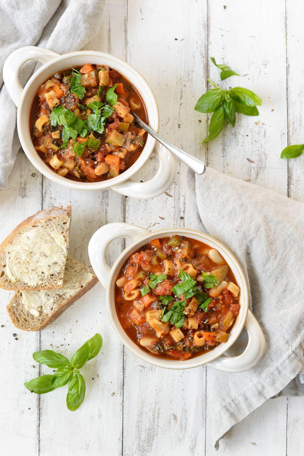 Instant Pot Vegetable Soup recipe