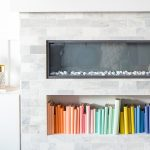 DIY Color-Coded Bookshelf