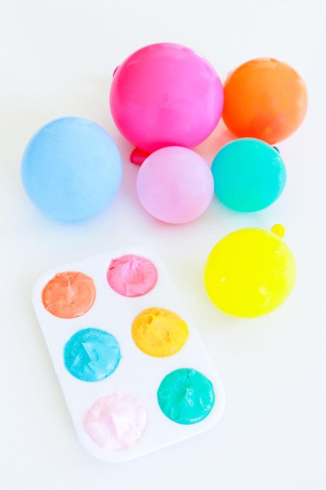 Step 8 - DIY Balloon Garland Cake Topper by top Houston lifestyle Blogger Ashley Rose of Sugar & Cloth - DIY DECOR #DIY #decor #balloon #balloongarland #party #celebrate #birthday #garland #diydecor