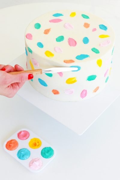 Step 9 - DIY Balloon Garland Cake Topper by top Houston lifestyle Blogger Ashley Rose of Sugar & Cloth - DIY DECOR #DIY #decor #balloon #balloongarland #party #celebrate #birthday #garland #diydecor