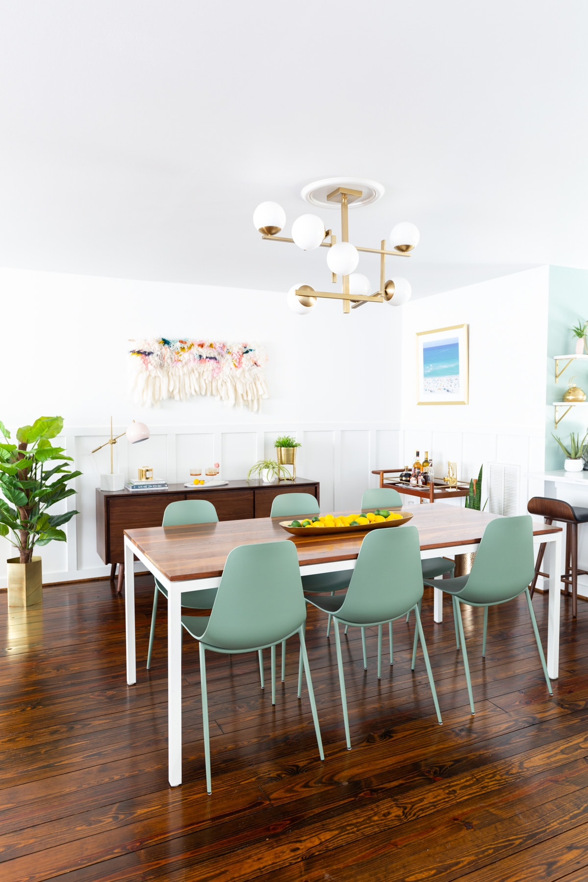 Sugar & Cloth Casa: Our Dining Room Makeover Reveal!